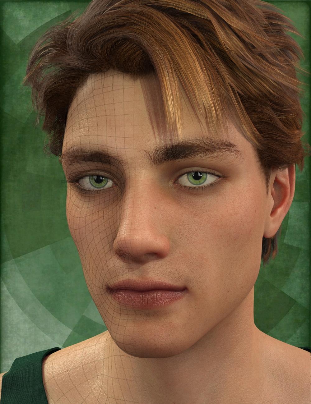 Genesis 8 Male Head Morph Resource Kit 1 by: ThorneHandspan Studios, 3D Models by Daz 3D