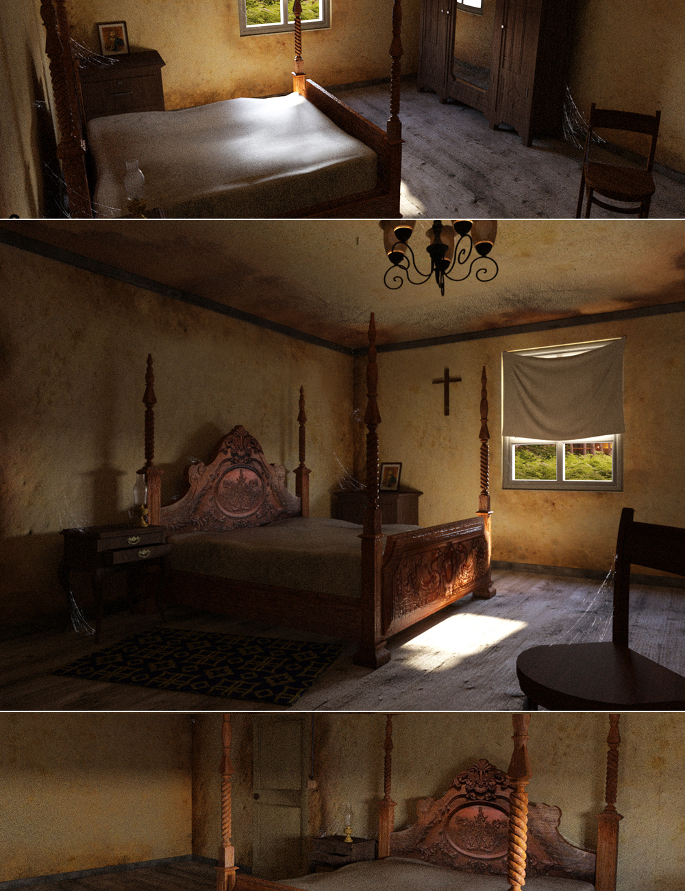 Abandoned Room by: Digitallab3D, 3D Models by Daz 3D