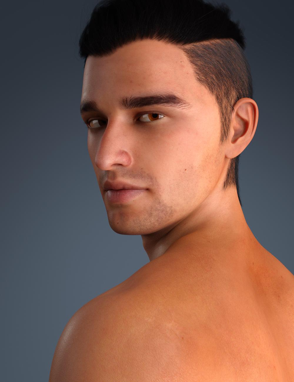 Rodrigo for Genesis 8 Male by: Toyen, 3D Models by Daz 3D