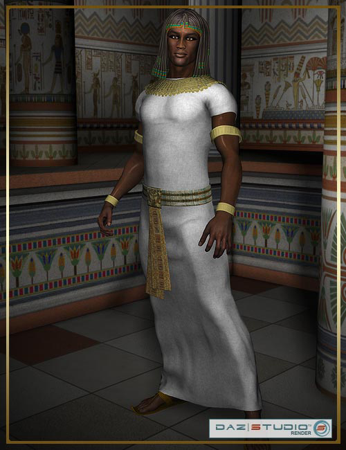 Pharaohs of the Sun for M3 by: royloo, 3D Models by Daz 3D