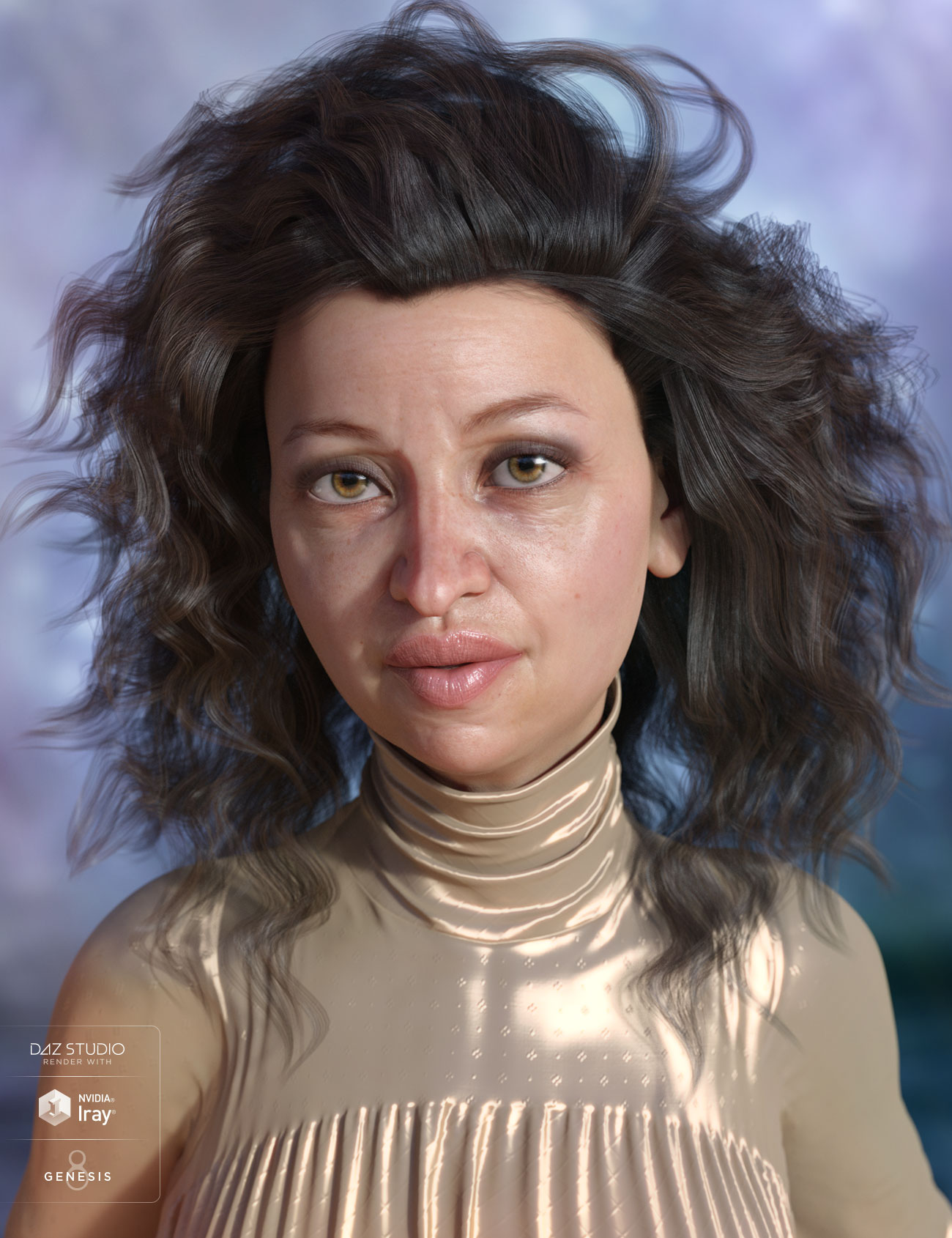 Stella Hair for Genesis 3 and 8 Female(s) by: AprilYSH, 3D Models by Daz 3D