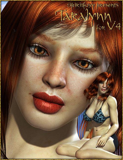 Taralynn for V4 by: Spiritfoxy, 3D Models by Daz 3D
