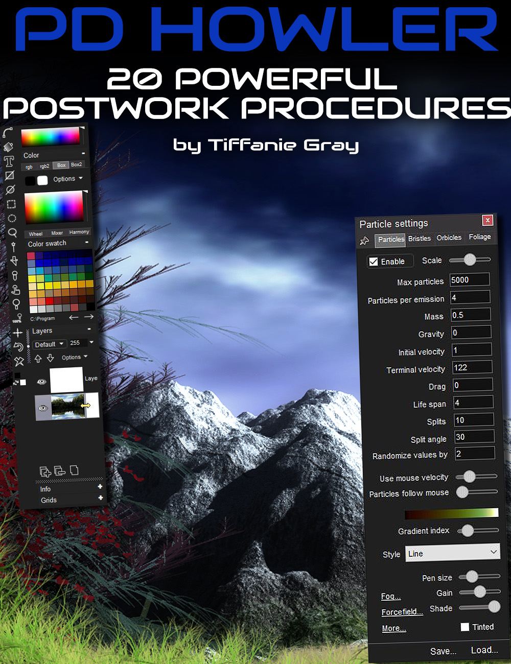 20 Powerful Postwork Procedures with PD Howler by: Digital Art Live, 3D Models by Daz 3D