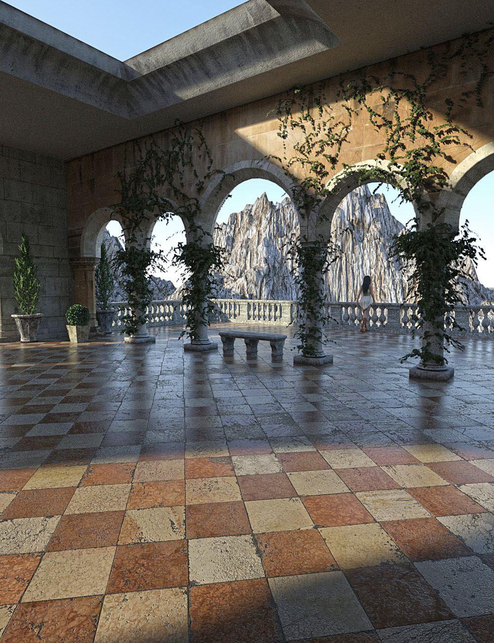 Renaissance Plaza by: bitwelder, 3D Models by Daz 3D