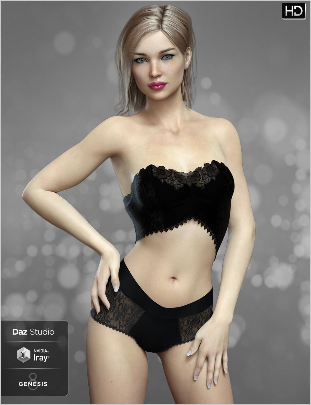 FWSA Vivian HD for Penny 8 by: Fred Winkler ArtSabby, 3D Models by Daz 3D