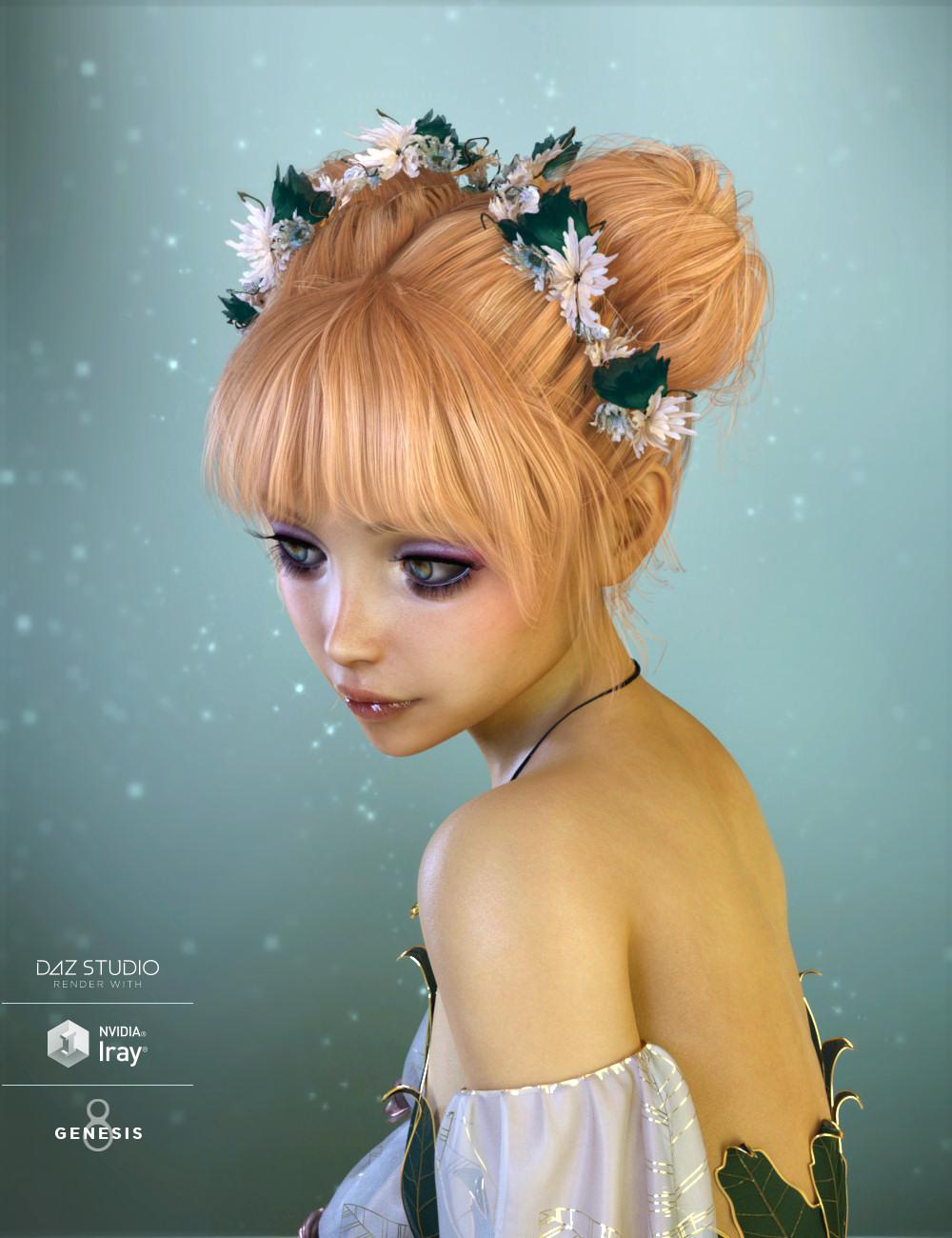 BonBon Hair Expansion & Accessories by: goldtassel, 3D Models by Daz 3D