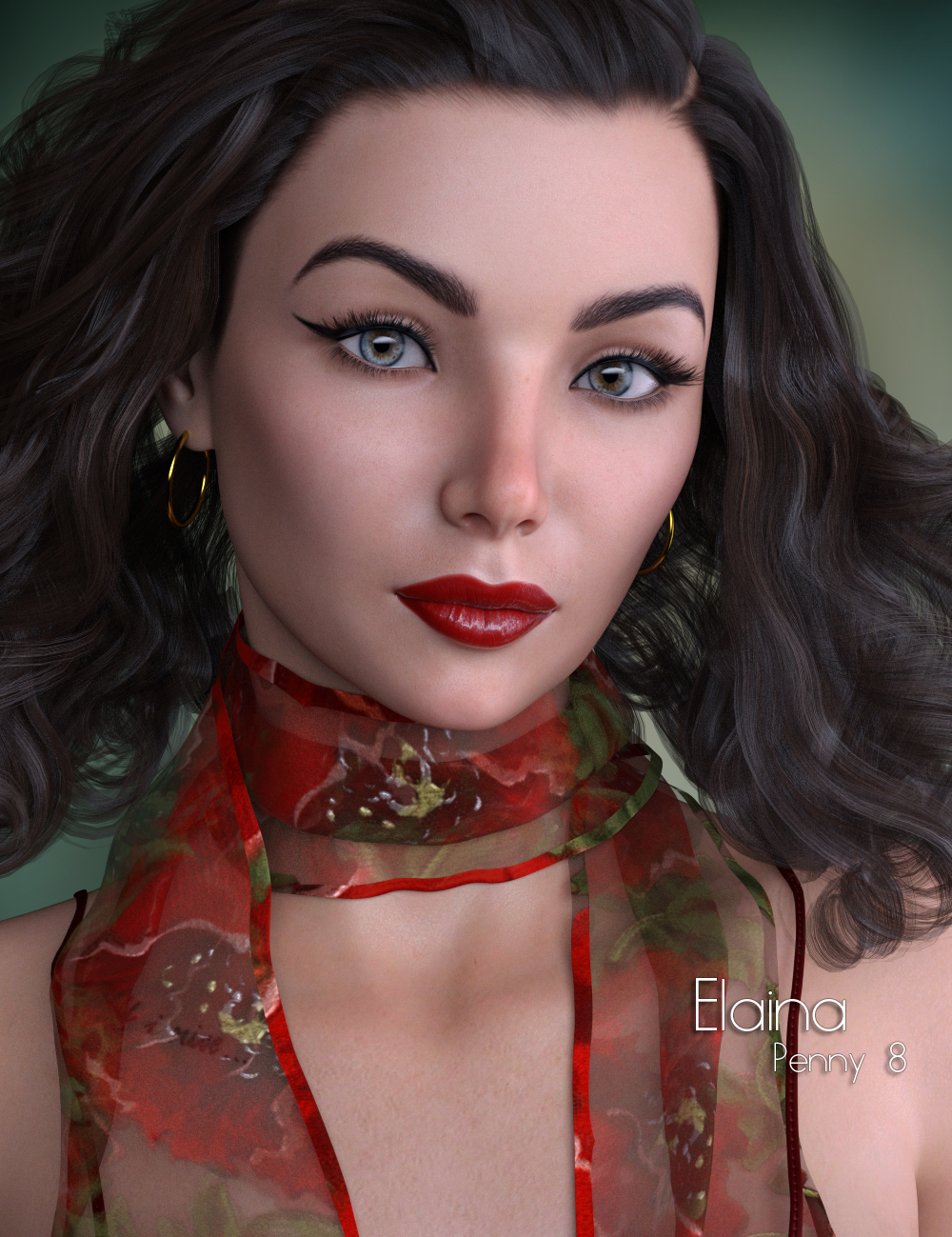 P3D Elaina for Penny 8 by: P3Design, 3D Models by Daz 3D