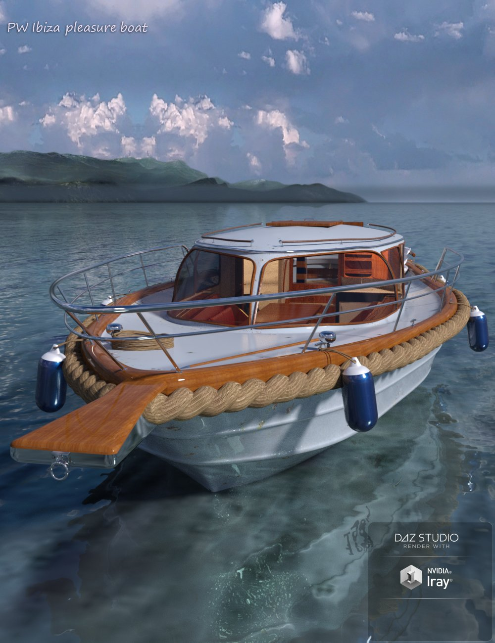 PW Ibiza Pleasure Boat by: PW Productions, 3D Models by Daz 3D