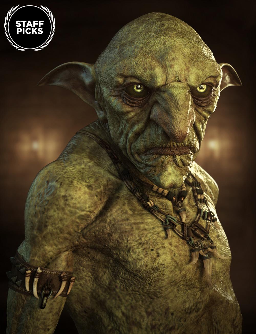 Hobgoblin HD for Genesis 8 Male by: , 3D Models by Daz 3D