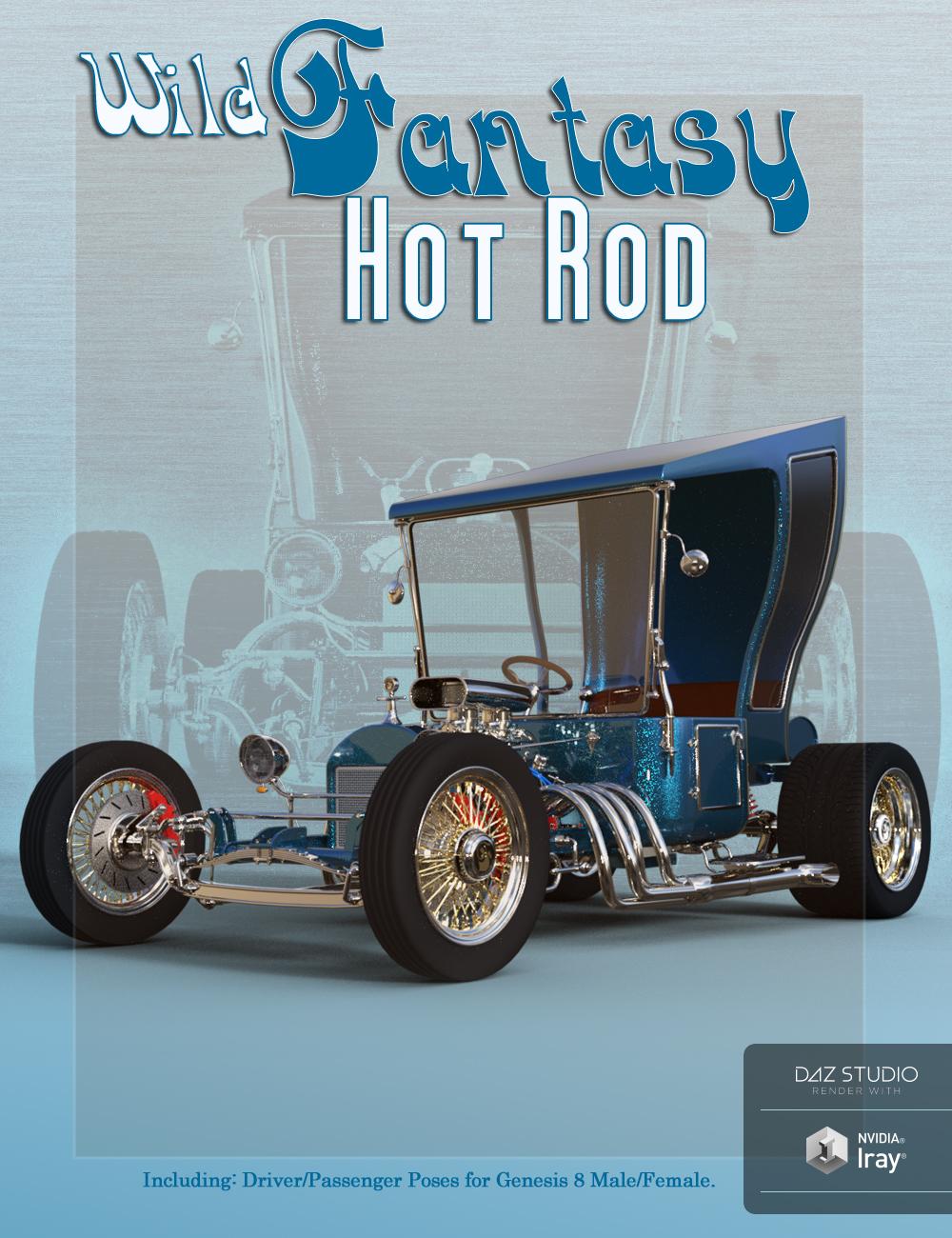 Wild Fantasy Hot Rod by: Td3d, 3D Models by Daz 3D