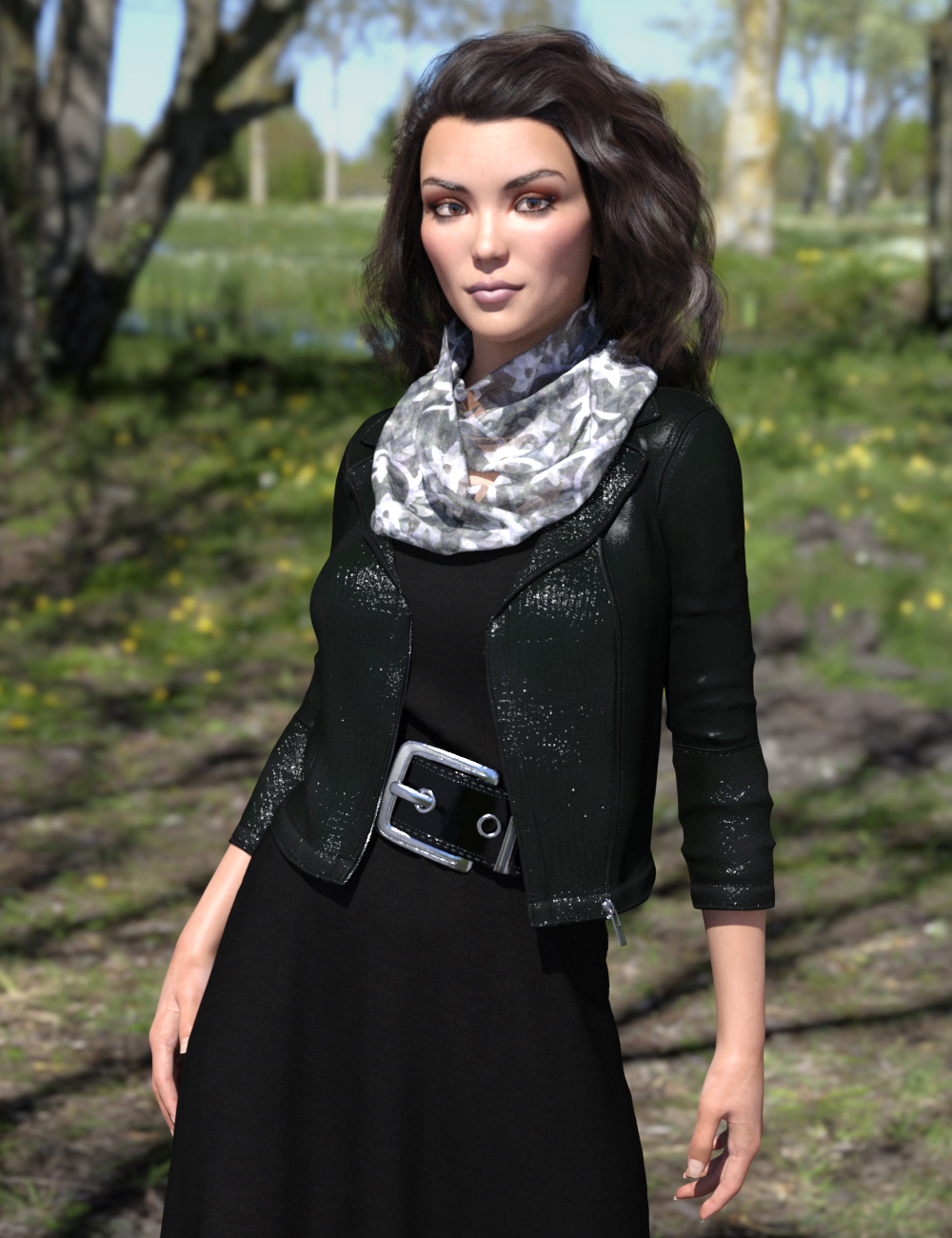 dForce All Seasons Outfit for Genesis 8 Female(s) by: esha, 3D Models by Daz 3D