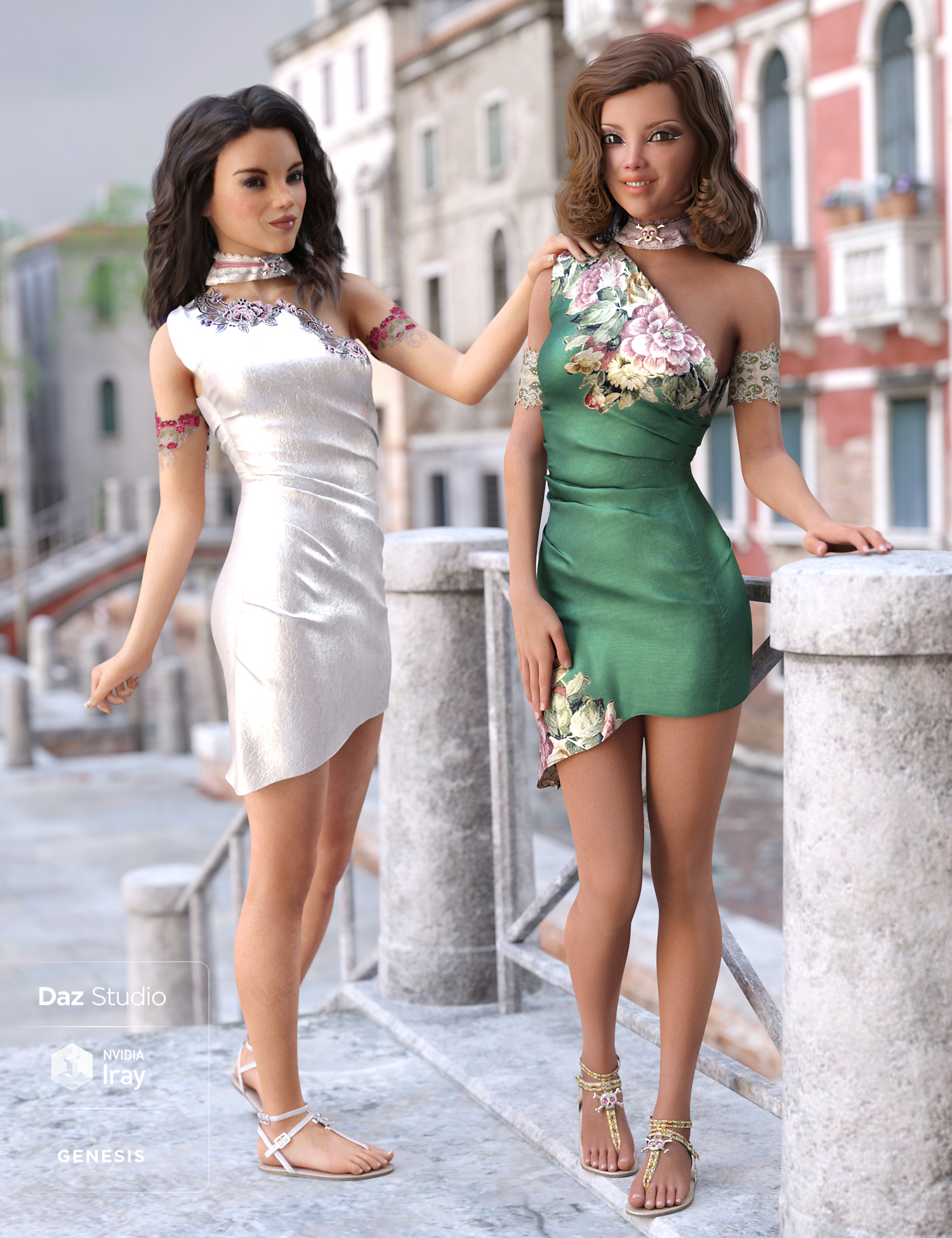 Eolande Outfit Textures by: Shox-Design, 3D Models by Daz 3D