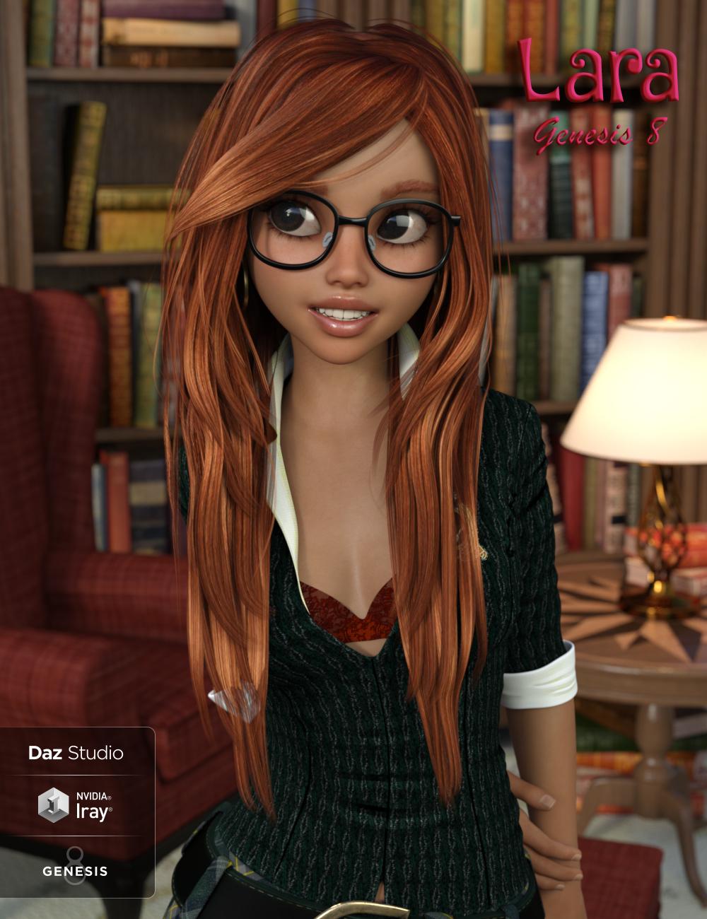 Lara for Genesis 8 Female by: Thorne, 3D Models by Daz 3D