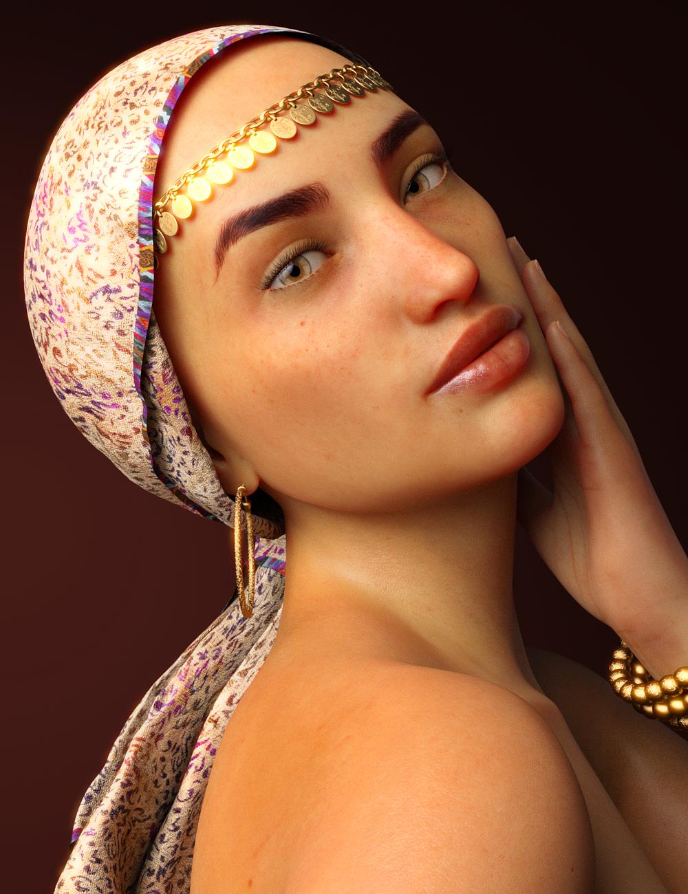 Kayia for Genesis 8 Female by: Toyen, 3D Models by Daz 3D
