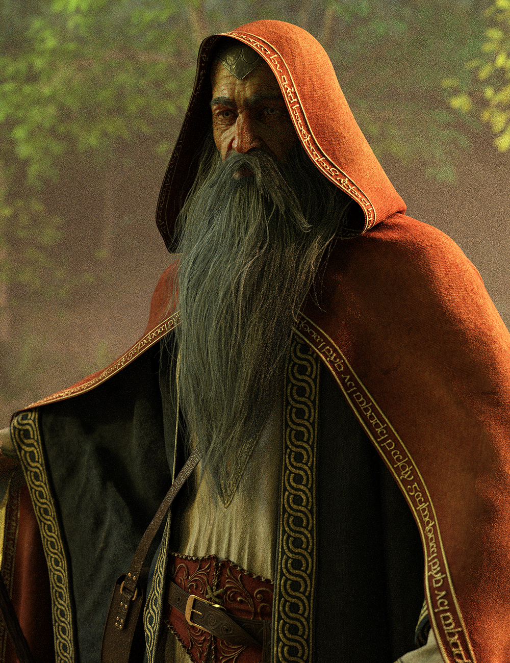 Wise Wizard HD Bundle by: Luthbel, 3D Models by Daz 3D