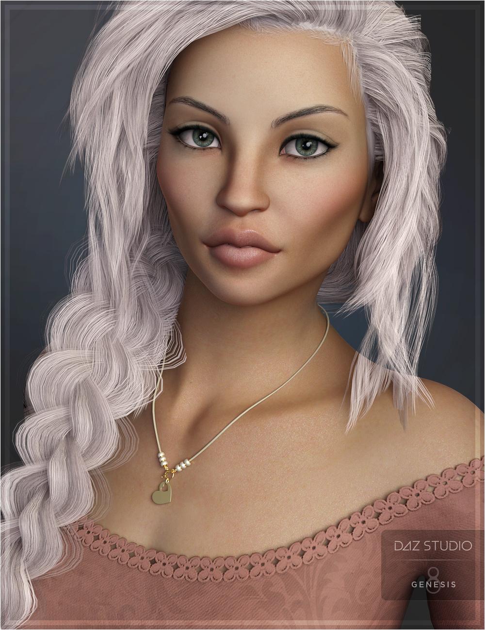 Emalie for Genesis 8 Female by: OziChick, 3D Models by Daz 3D