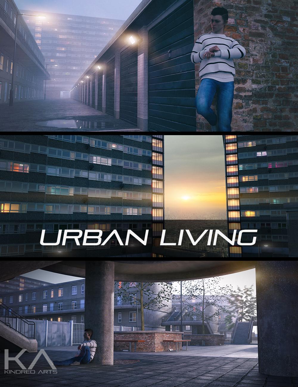 Urban Living by: KindredArts, 3D Models by Daz 3D