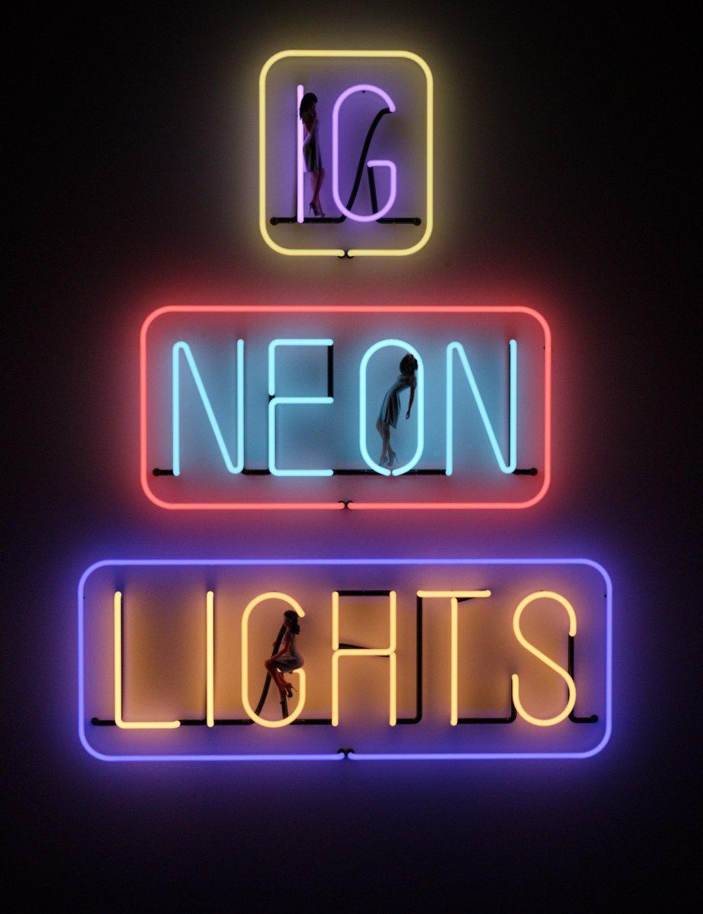 IG Iray Neon Lights by: IDG DesignsInaneGlory, 3D Models by Daz 3D