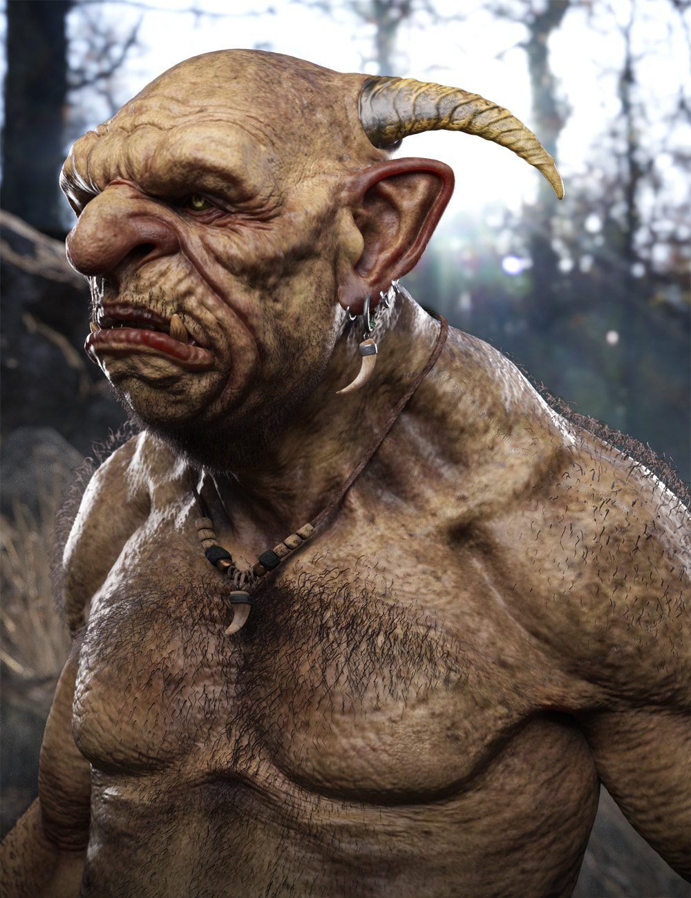 Troll HD for Floyd 8 by: , 3D Models by Daz 3D