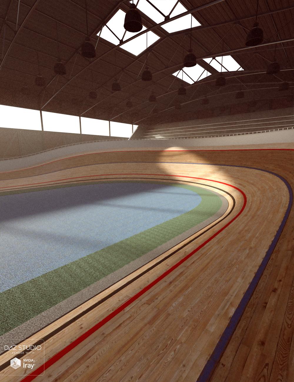 Velodrome Track by: David BrinnenForbiddenWhispers, 3D Models by Daz 3D