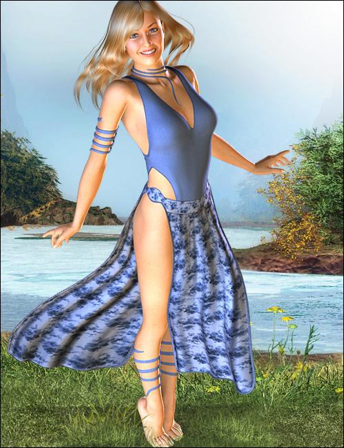 Zenia for Victoria 4 by: Ravenhair, 3D Models by Daz 3D