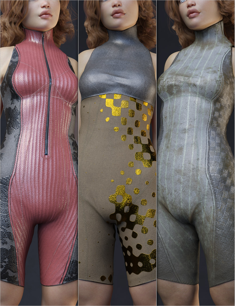 Helix Alpha Outfit for Genesis 8 Female(s) by: Aeon Soul, 3D Models by Daz 3D