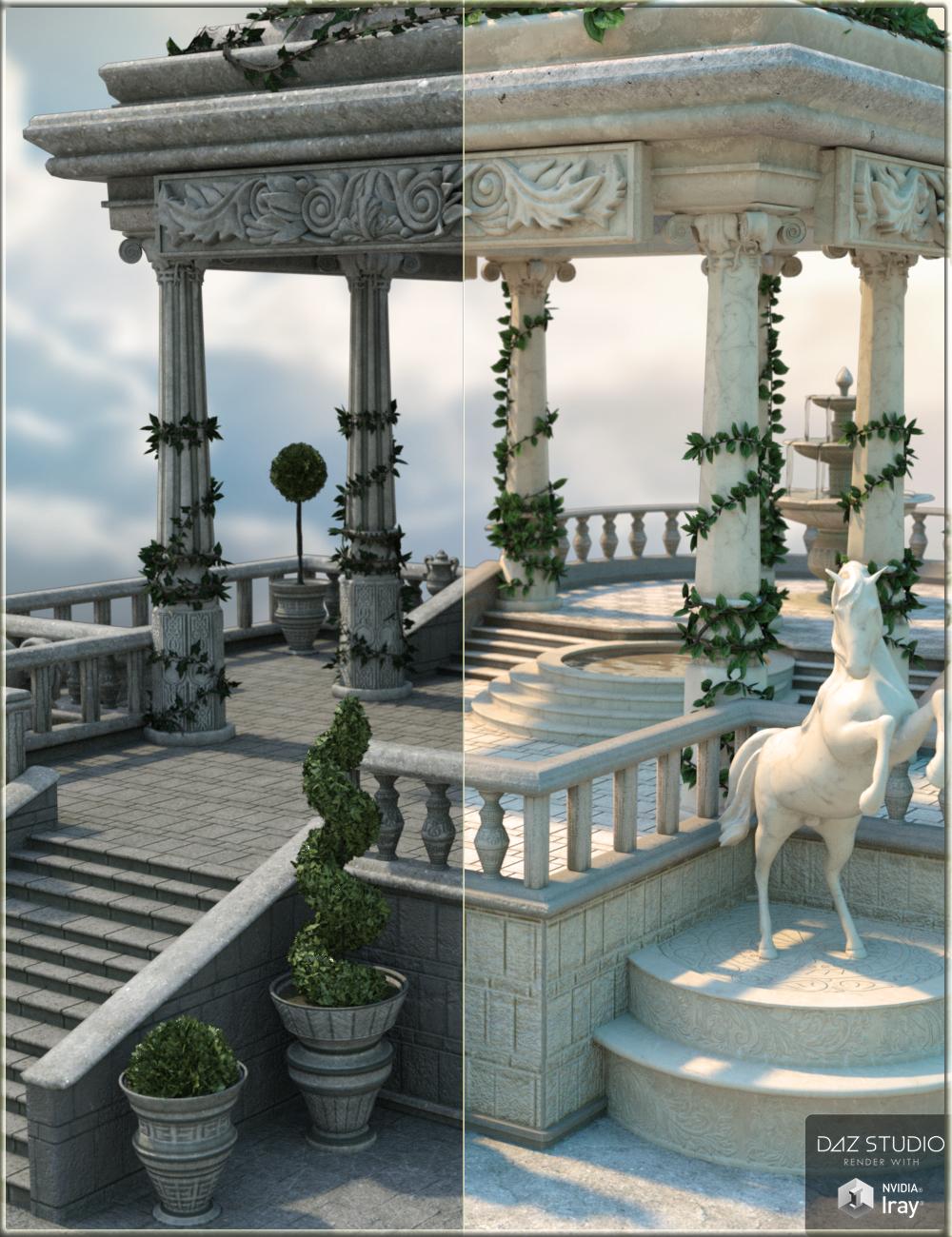 Royal Pavillion by: Nikisatez, 3D Models by Daz 3D