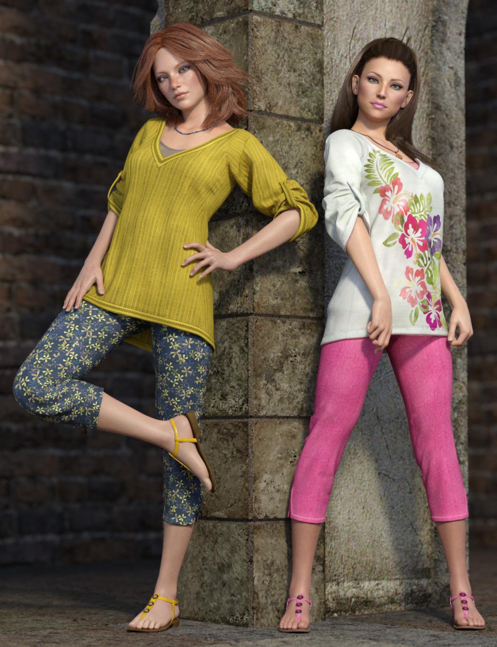 dForce Collection 01 Texture Expansion by: esha, 3D Models by Daz 3D