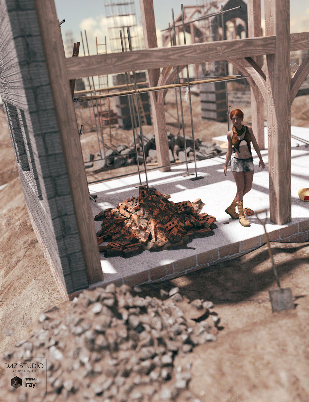 Rubble for Everyone Vol I by: David BrinnenForbiddenWhispers, 3D Models by Daz 3D