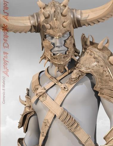 Axoran Demonic Armor Regalia for Genesis 8 Male(s) by: BadKitteh Co, 3D Models by Daz 3D