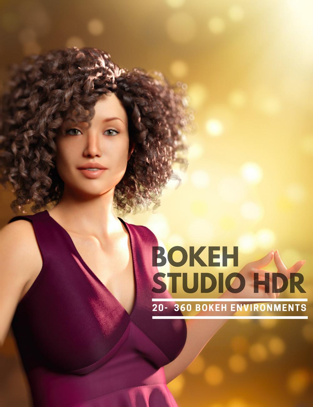 Bokeh Studio HDR by: Colm Jackson, 3D Models by Daz 3D