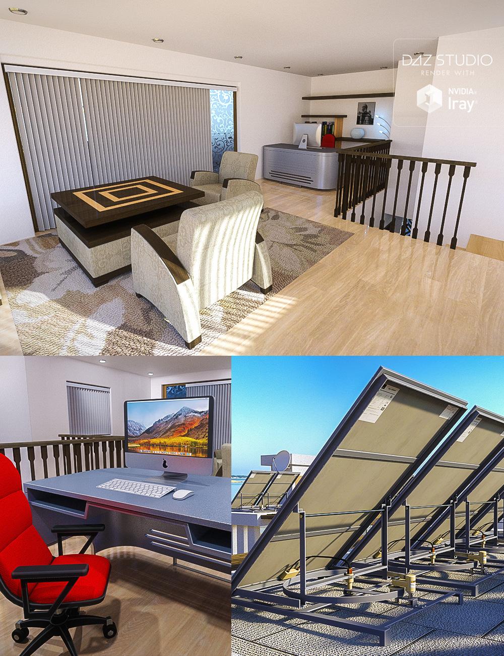 22 Parker Road Props - 3rd Floor by: petipet, 3D Models by Daz 3D