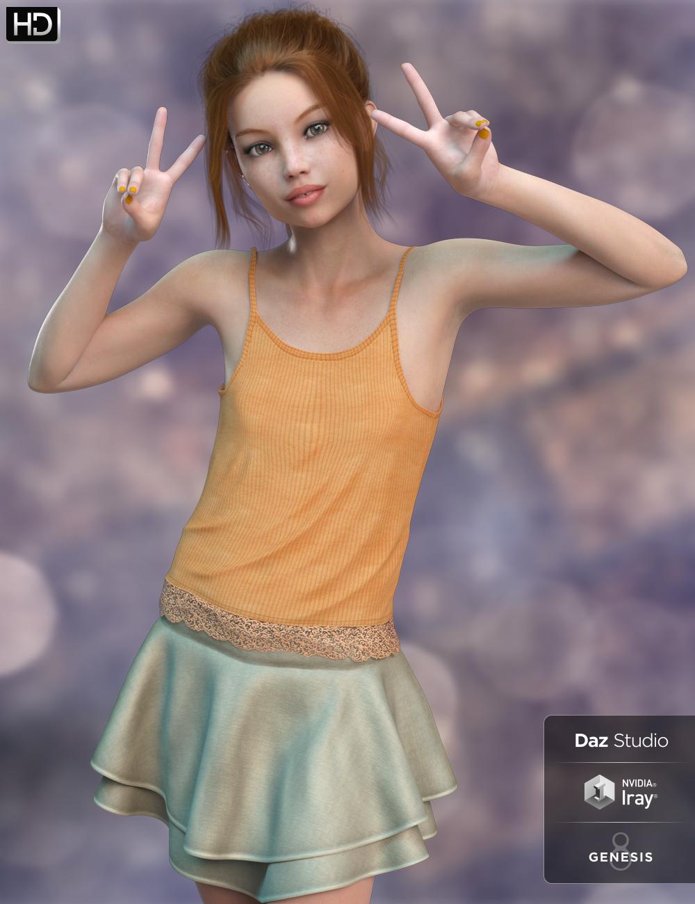 Olivia HD for Genesis 8 Female by: Fred Winkler ArtSabby, 3D Models by Daz 3D