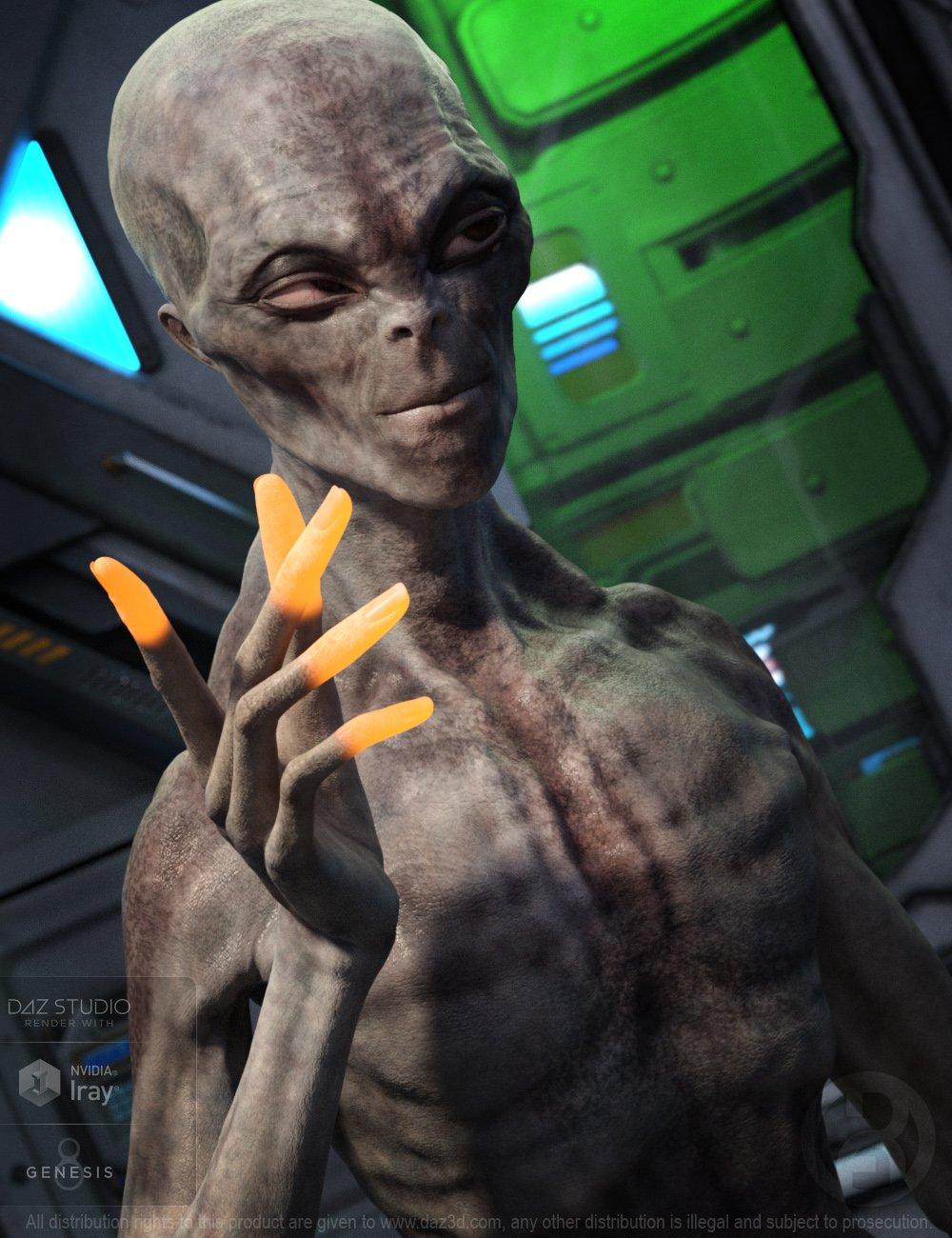 Big Grey for Genesis 8 Male by: RawArt, 3D Models by Daz 3D
