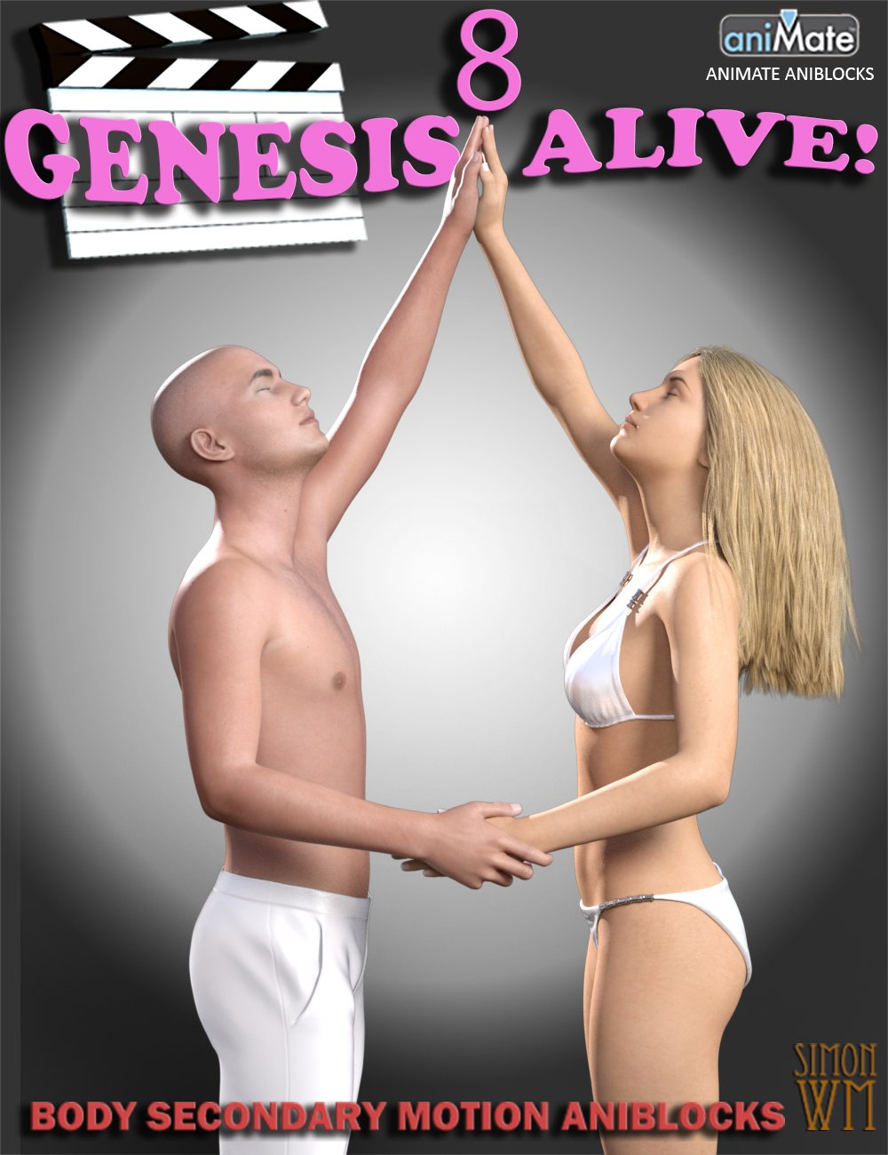 Genesis 8 Alive! by: SimonWM, 3D Models by Daz 3D