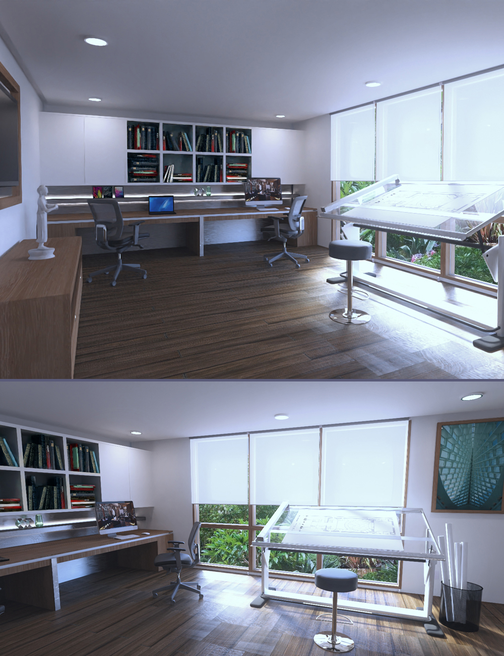 Architect Office by: Digitallab3D, 3D Models by Daz 3D