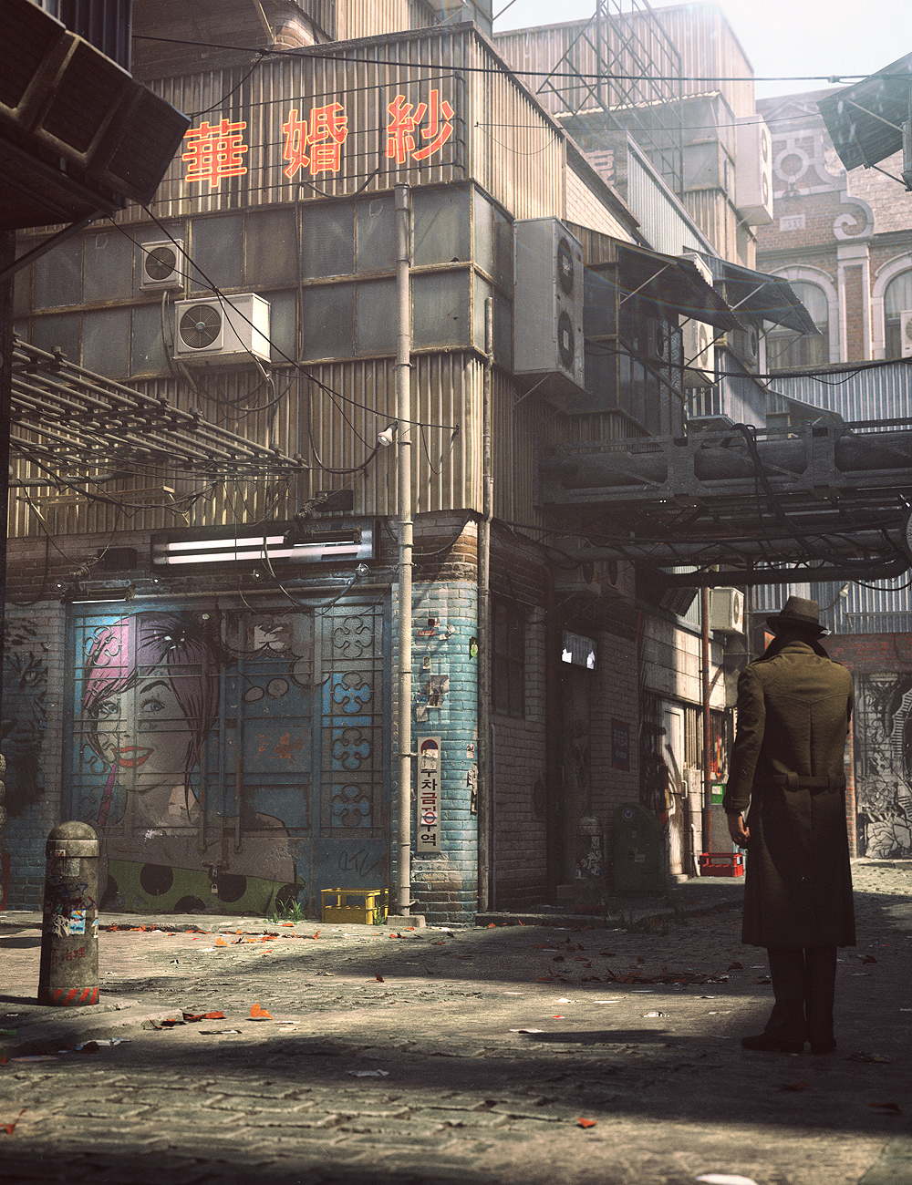 Urban Future 6 by: Stonemason, 3D Models by Daz 3D
