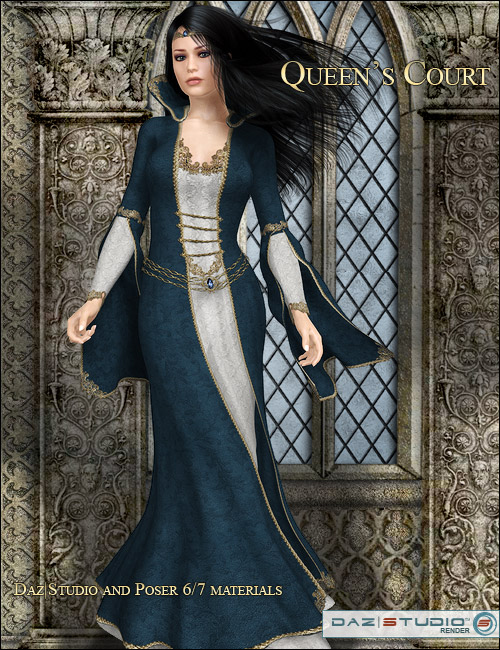 Queens Court 2 by: LaurieS, 3D Models by Daz 3D