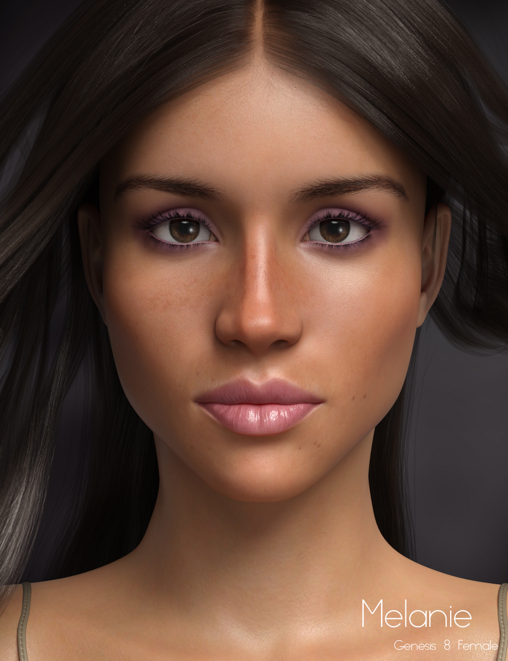 P3D Melanie HD for Genesis 8 Female by: P3Design, 3D Models by Daz 3D