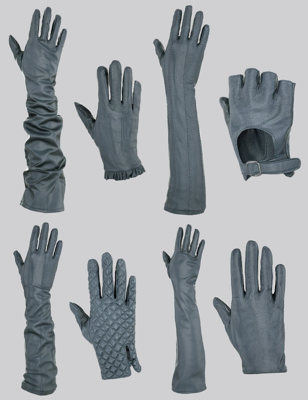 Glove-a-Licious for Genesis 8 Female(s) and FBX by: Polygonal Miniatures, 3D Models by Daz 3D