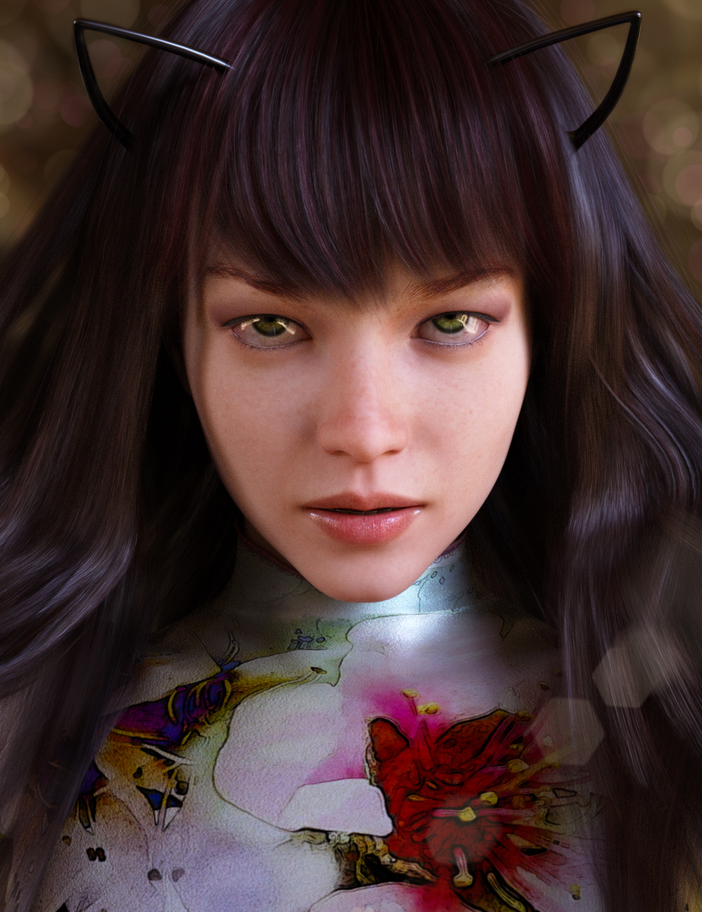 Rosaleen for Genesis 8 Female by: iSourceTextures, 3D Models by Daz 3D