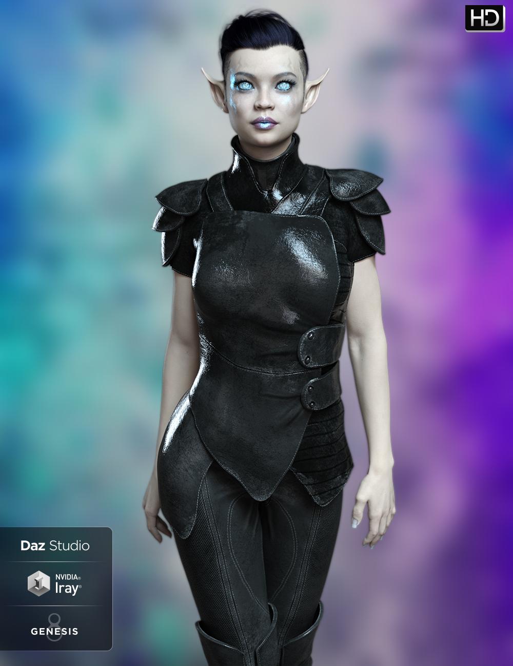 FWSA Zurie HD for Zelara 8 by: Fred Winkler ArtSabby, 3D Models by Daz 3D