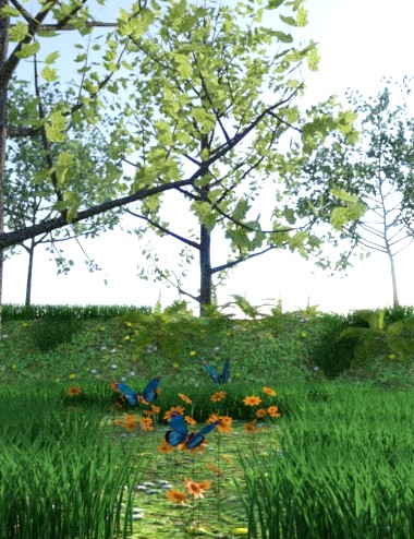 Iray Plants Pack 2 by: JeffersonAF, 3D Models by Daz 3D