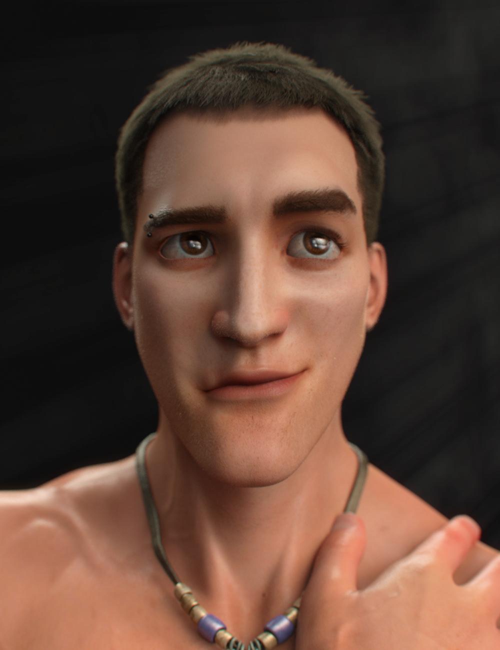 Brandon for Toon Dwayne 8 by: VincentXyooj, 3D Models by Daz 3D
