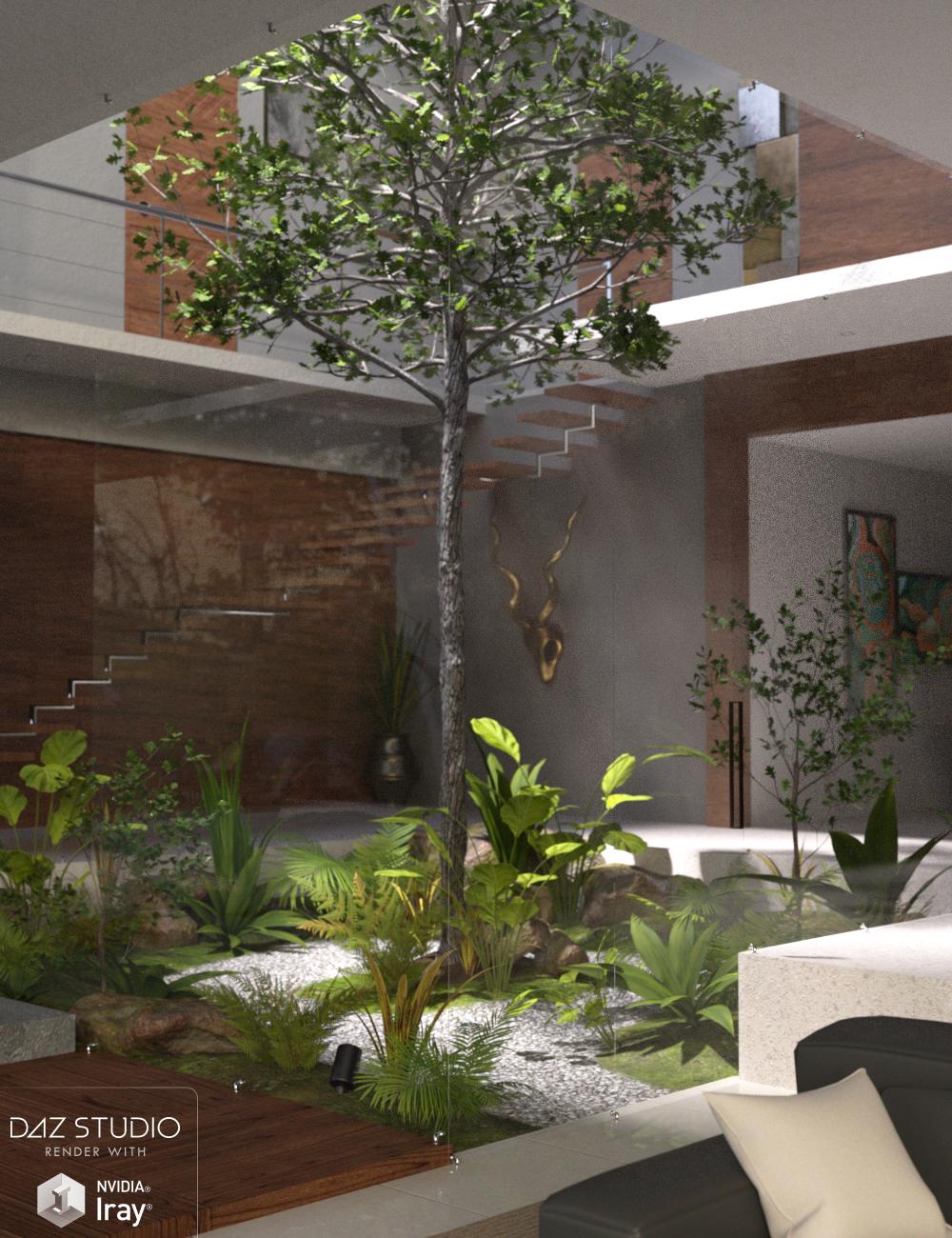 Modern Atrium by: Nikisatez, 3D Models by Daz 3D