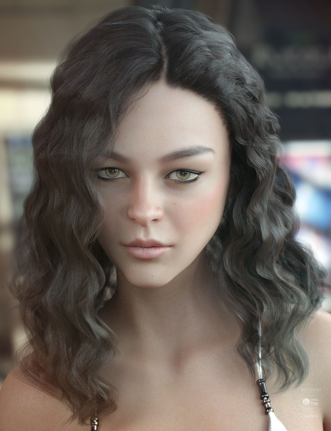 Vance Hair for Genesis 3 & 8 Female(s) by: AprilYSH, 3D Models by Daz 3D