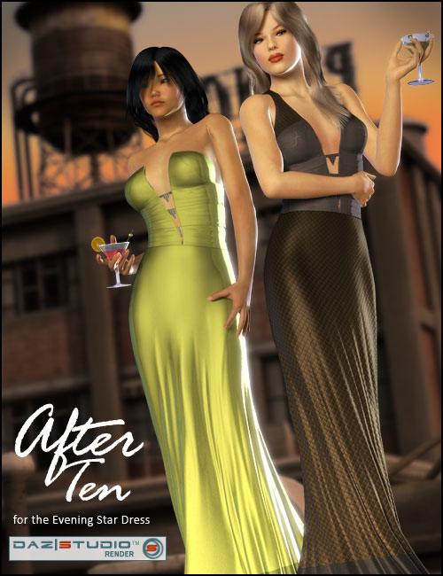 After Ten for the Evening Star Dress by: outoftouch, 3D Models by Daz 3D