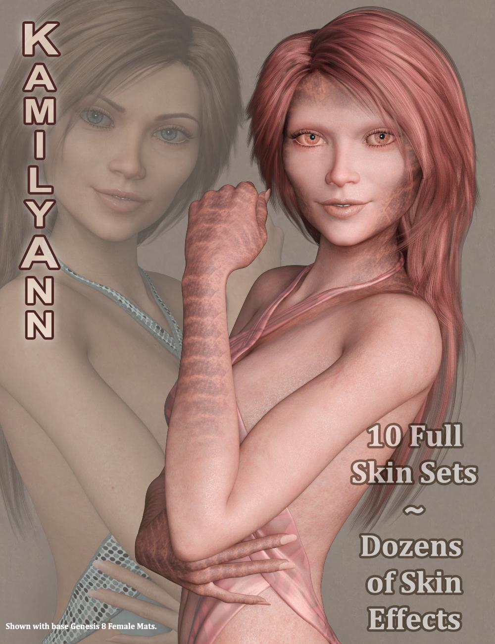 KamilyAnn for Zelara 8 by: 3Diva, 3D Models by Daz 3D