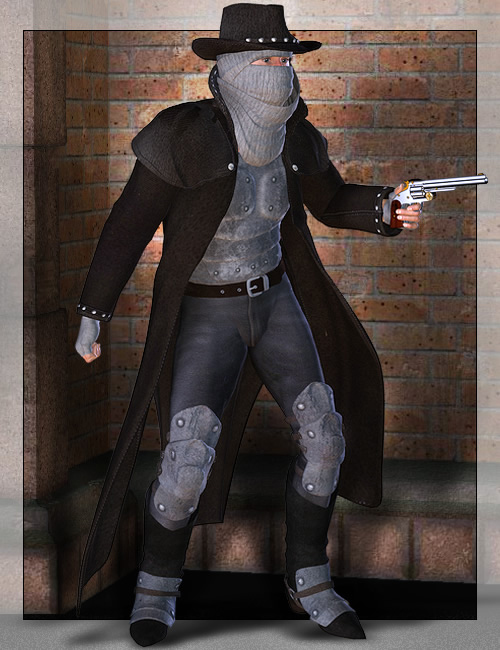 Secret Investigator for C.I.S. Operative for M3 by: , 3D Models by Daz 3D