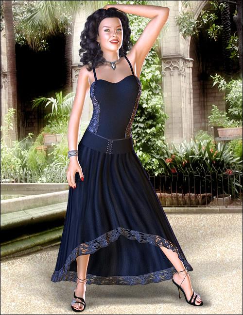 Selene for Victoria 4 by: Ravenhair, 3D Models by Daz 3D